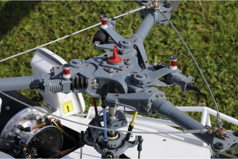 F4 Heli Semi-Scale: 1. Promotionslauf in Grenchen